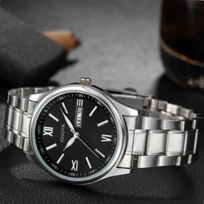 Mens Watches Top Brand Luxury Sale Stainless Steel Calendar Men&39;s Watches Business Male Sports Relojes Hombre heren horloge time